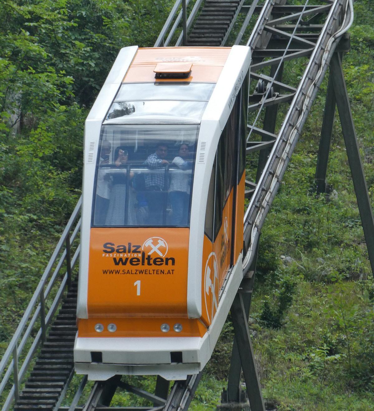 litet tåg för turister